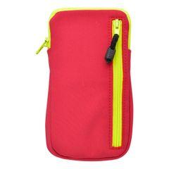Puzdro vsuvka 4XXL červené Softshell s vreckom na zips