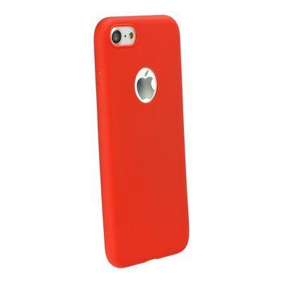 Puzdro gumené Apple iPhone 8 Plus Forcell Soft červené PT
