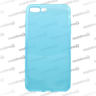 Puzdro gumené Apple iPhone 8 Plus modré