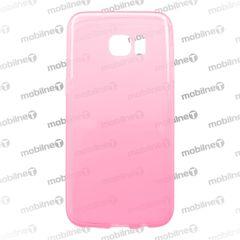 Puzdro gumené Samsung G935 Galaxy S7 Edge anti-moisture ružové