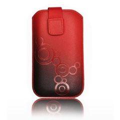 Puzdro vsuvka Apple iPhone 5/5C/5S/SE červené PT