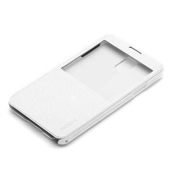 Rock puzdro knižka Samsung N9005 Galaxy Note 3 biele