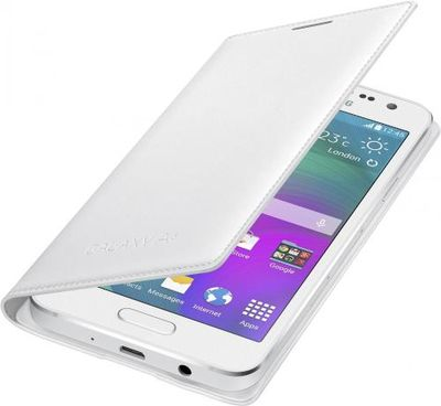 Samsung puzdro knižka A300 Galaxy A3 EF-FA300BWE biele