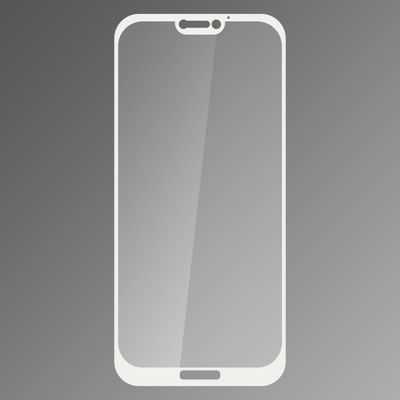 Sklenená fólia Huawei P20 Lite fullcover biela