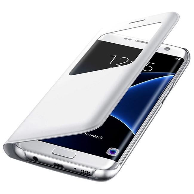 Samsung puzdro knižka G935 Galaxy S7 Edge EF-CG935PWEGWW s-view biele  zväčšiť obrázok b71f0789967